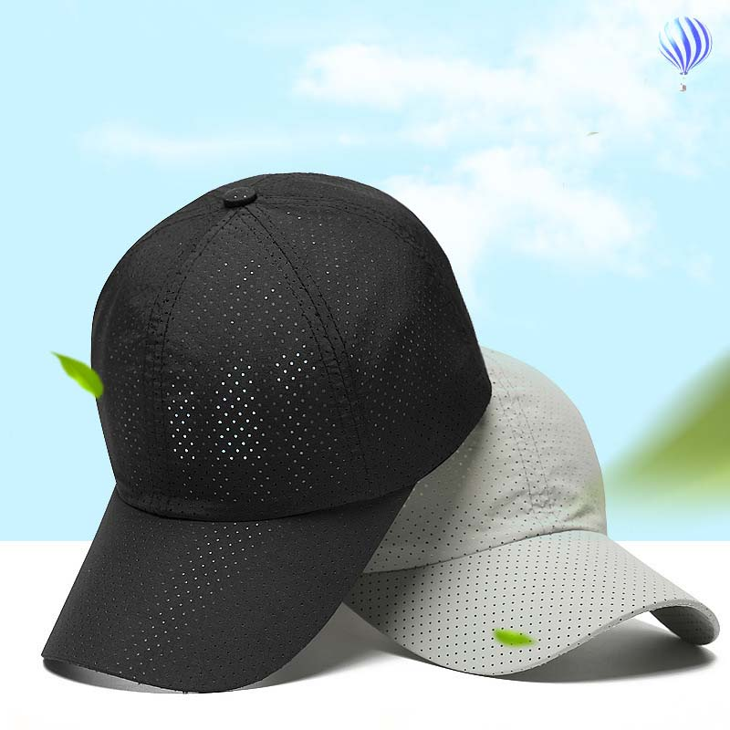 New Ultra-slim Summer Cap quick-drying fabric Unisex Women Man Quick Dry Mesh Running Hat Bone Breathable Hats