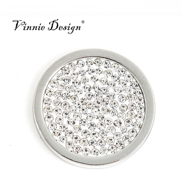 Aliexpress buy vinnie design jewelry 25mm small coin with full vinnie design jewelry 25mm small coin with full crystal fit in 25mm moneda frame pendants my mozeypictures Gallery