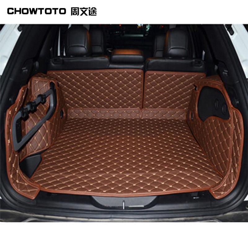 CHOWTOTO AA Măști speciale pentru portbagaj pentru covoare Jeep - Accesorii interioare auto