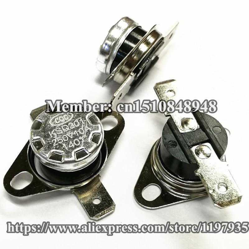 5 x KSD301 40C 104F Normal Close Thermostat Temperature Control Switch