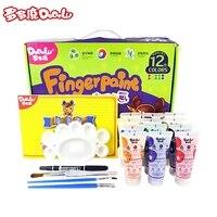 DoDoLu 12 개/몫, 35 미리리터 12 컬러 손가락 그림, 학습 및 교육 장난감. 그리기 장난감, 손가락 예술, 유치원 공예