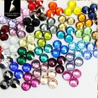 Crystal Castle Hotfix Strass 5A Mix 4 Color Crystal and Stone Deluxe Gems Flat  Back Glass 6d85b68ef38c