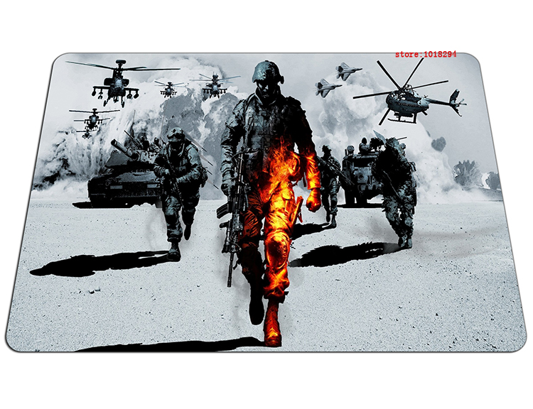 Battlefield 3 mouse pad hot 2016 new mousepad laptop mouse pad gear notbook computer gaming mouse pad gamer play mats