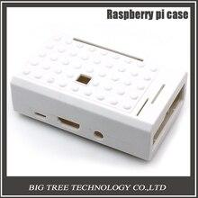 New Raspberry Pi case Raspberry Pi ABS case white color for Raspberry Pi 3&2&B plus supporting Raspberry Pi camera installing