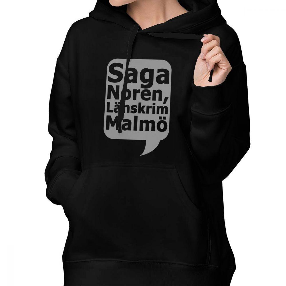 Quote Hoodie Saga Noron LLnskrim Malmu Hoodies Cotton Streetwear Hoodies Women Long Sleeve Oversized Sweet Black Pullover Hoodie in Hoodies amp Sweatshirts from Women 39 s Clothing