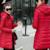 2016 mujeres nueva moda de invierno de abrigo largo chaqueta delgada tamaño pius capa encapuchada outwear alta calidad parka caliente