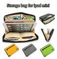 Горячая Марка BUBM Цифровой Мешок Хранения Для ipad mini 1/2/3/4, Case For7 дюймовый MID Tablet, диск USB Кабель Карты Мешок Руки. Бесплатная Доставка.