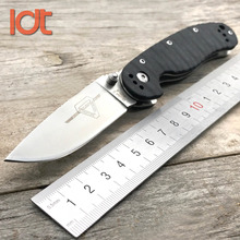 LDT RAT Model 2 Folding Knife AUS-8 Blade G10 Handle Tactical Knife Hunting Camping Outdoor Knives Outdoor Survival EDC Tools цена в Москве и Питере