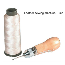 Leather Sewing Awl Quick Stitch Repairing Tool Set Thread DIY Stitching Accessories TB Sale