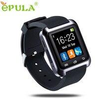 Hábil 2016 nueva moda muñeca bluetooth podómetro sleep monitor de smart watch saludables para el teléfono para android jul4