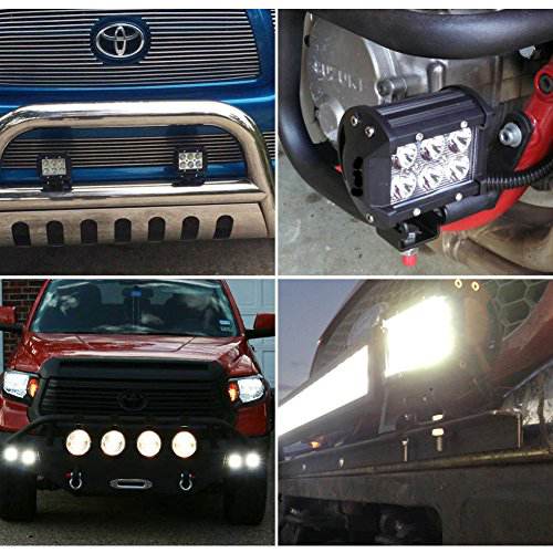 Nilight-2-X-18W-1260-lm-Cree-LED-Spot-Driving-Fog-Light-LED-Work-Light-Bar-Mounting-Bracket-for-SUV-Boat-4-x-4-Jeep-Lamp-0-4