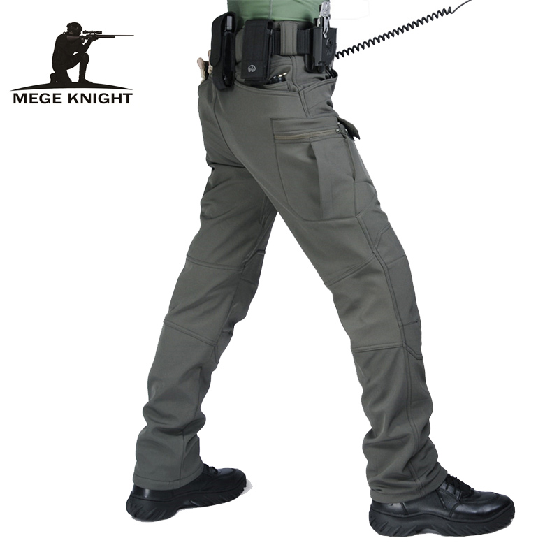 Tactical clothing men cargo pants IX7 military trousers, winter warm camouflage army fleece pants, airsoft paintball uniform