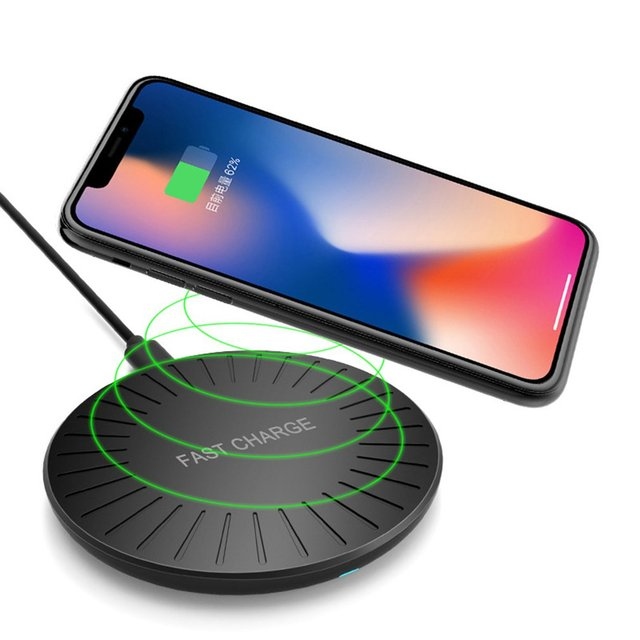 ONLENY Universal Wireless Charger Qi Fast for iPhone XS MAX XR X 8 Plus