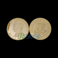 2017 Vice-president Mike Pence of American Presidential Commemorative Coin 38mm Trump's Partner Novelty Coins 5pcs/Lot