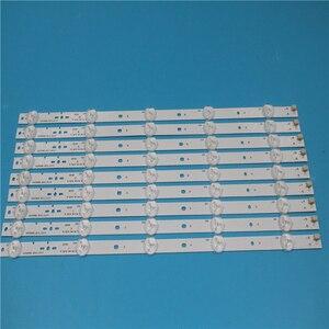 Image 2 - חדש ערכת 10pcs 5LED 395mm LED תאורה אחורית רצועת עבור KDL40R450A KDL 40R473A SVG400A81_REV3_121114