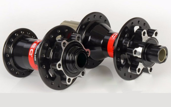 Novatec D811-15 D812-10X135 Black thru alxe and quick relase hubs-2