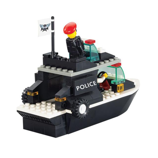 98pcs/set Boat DIY Construction Bricks Puzzle Toy