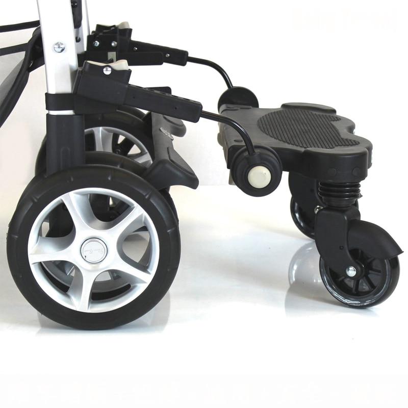 Stroller Bayi Penggunaan Umum Pedal Bayi Plate Handcars Skateboard Kereta Payung Planker Eropah Bayi Strollers
