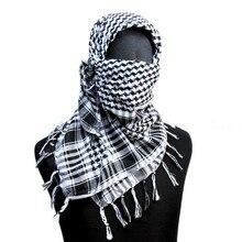 """Шарф в стиле милитари тактический шарф США военный 4"""" вуаль Scrim камуфляж шарф B белый OD TAN [SC-03]"""