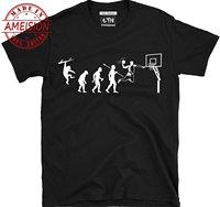 46963500 New Summer Hot Sale Mens Fashion 2019 Cool Men Tee Shirt Mens Evolution Of  Basketballs T