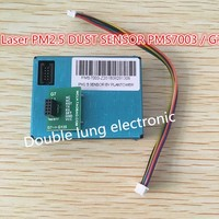 5pcs Lot PLANTOWER Laser PM2 5 DUST SENSOR PMS7003 G7 Thin Shape Laser Digital PM2 5
