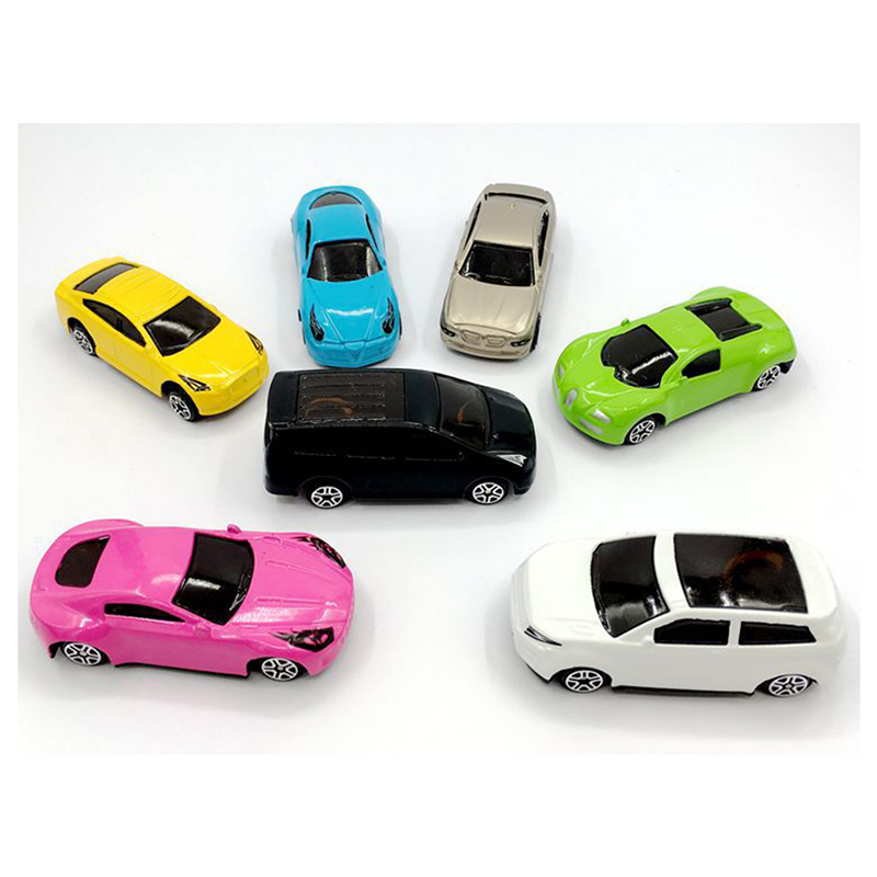 35pcs Sliding alloy car Cute Toy Cars For Child Wheels Mini Car 1:76 Model Kids Toys For Boys funny gift
