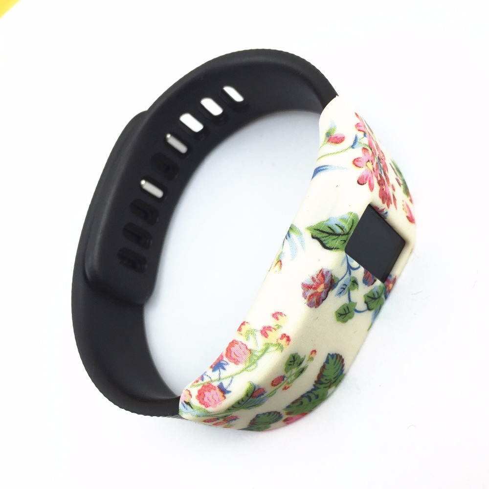 2PCS Lwsengme Silicone Band Cover for Fitbit Charge/Fitbit Charge HR Smart Watch Slim Designer Sleeve Protector accessories 12