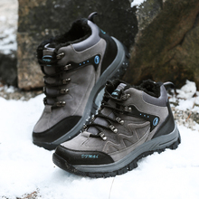 Outdoor Hiking Trekking Boots Waterproof Boot Brand Men Sport Shoes Mountain Climbing Hiking Shoes Boots canvas fishing shoes