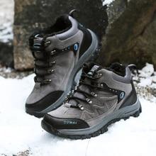 Outdoor Hiking Trekking Boots Waterproof Boot Brand Men Sport Shoes Mountain Climbing Hiking Shoes Boots canvas fishing shoes