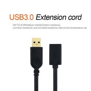 Image 5 - QGeeM USB הארכת כבל כבל USB3.0 זכר לנקבה מאריך נתונים Sync כבל מתאם 1M 3M 2M סעודת מהירות USB 3.0 כבל