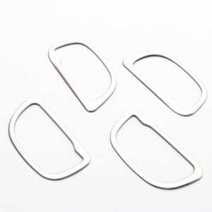 Image 5 - JY 4pcs SUS304 Stainless Steel Interior Inner Handle Trims Car Styling Cover for Toyota Vitz Yaris Hatchback 2017 Facelift