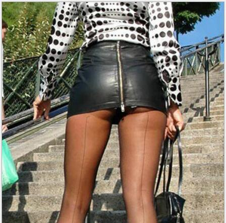 Fall 2019 Women Faux Leather Skirt super short Sexy PU Mini Skirt Super short Micro Skirt Ladies Zipper Shorter skirt for Gril image