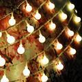 40 LED Solar luces de Jardín Cadena de Luz de Navidad de La Boda Decoraciones Al Aire Libre de Carga Automática