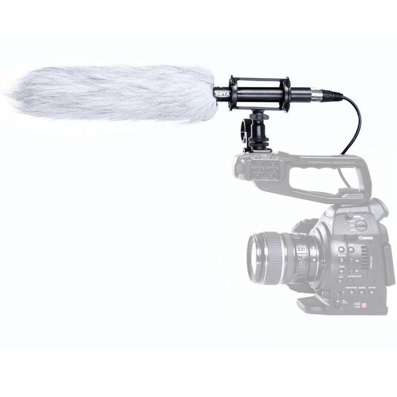 BOYA BY PVM1000L Shotgun Microphone Video Mic Camera Microphone for Canon Nikon Sony Video Camera Camcorders