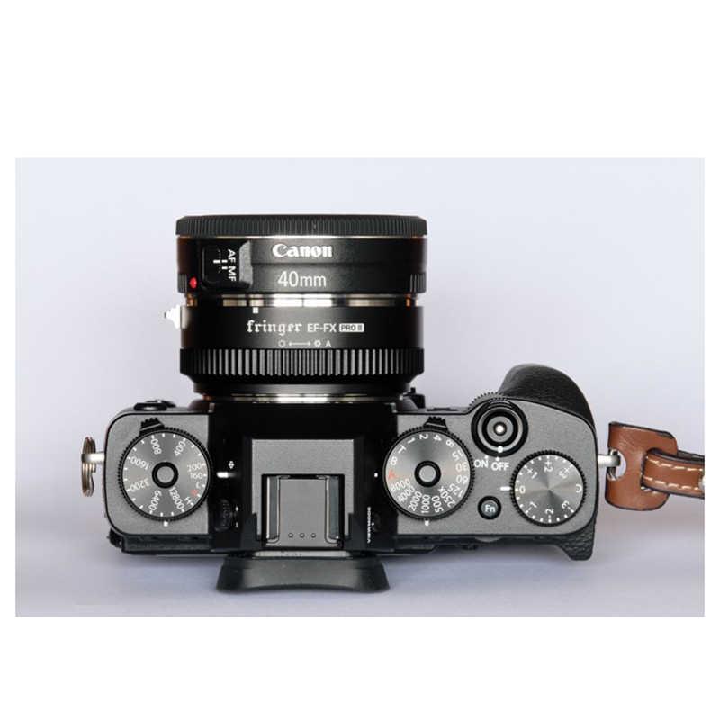 Fringer EF-FX PRO Авто фокус крепление адаптер объектива электронная диафрагма для Canon EOS Tamron Sigma объектив для Fujifilm FX Mirroless