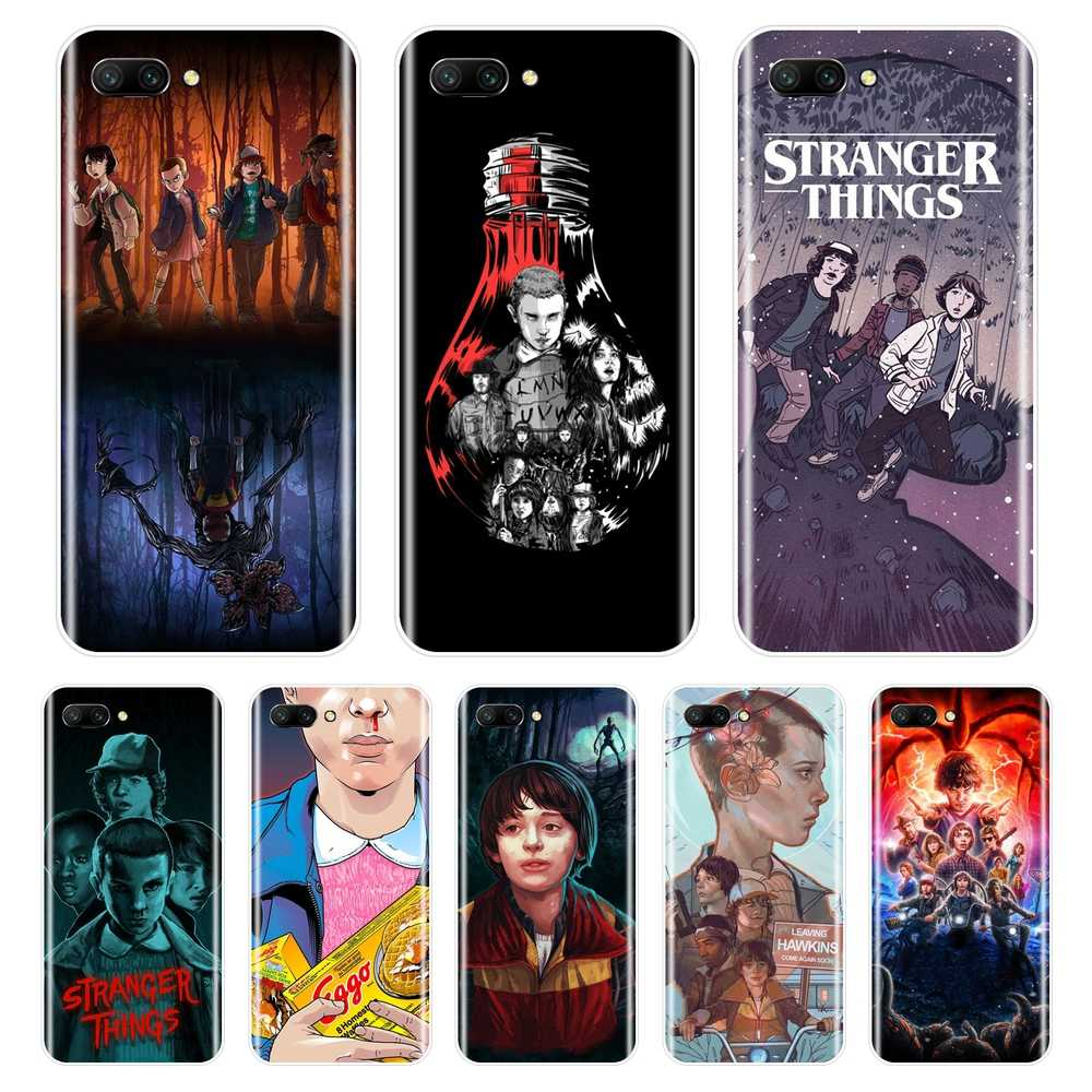 Stranger Things Phone Case Silicone For Huawei Honor 8X MAX 7 7S 7X 7A 7C Pro Soft Back Cover For Huawei Honor 8 9 10 Lite Case