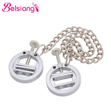 Chain-Clips Nipple-Clamps Torture Couples Sex-Toys Bondage Bdsm Breast-Stimulate Adjustable