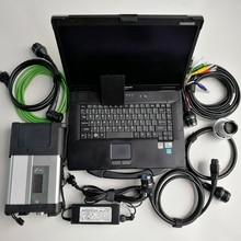 Для Automotivo Star используется диагностический ноутбук Toughbook CF-52 4G с программным обеспечением V12/ дюйма 360 ГБ SSD для Mb Star C5 Compact 5