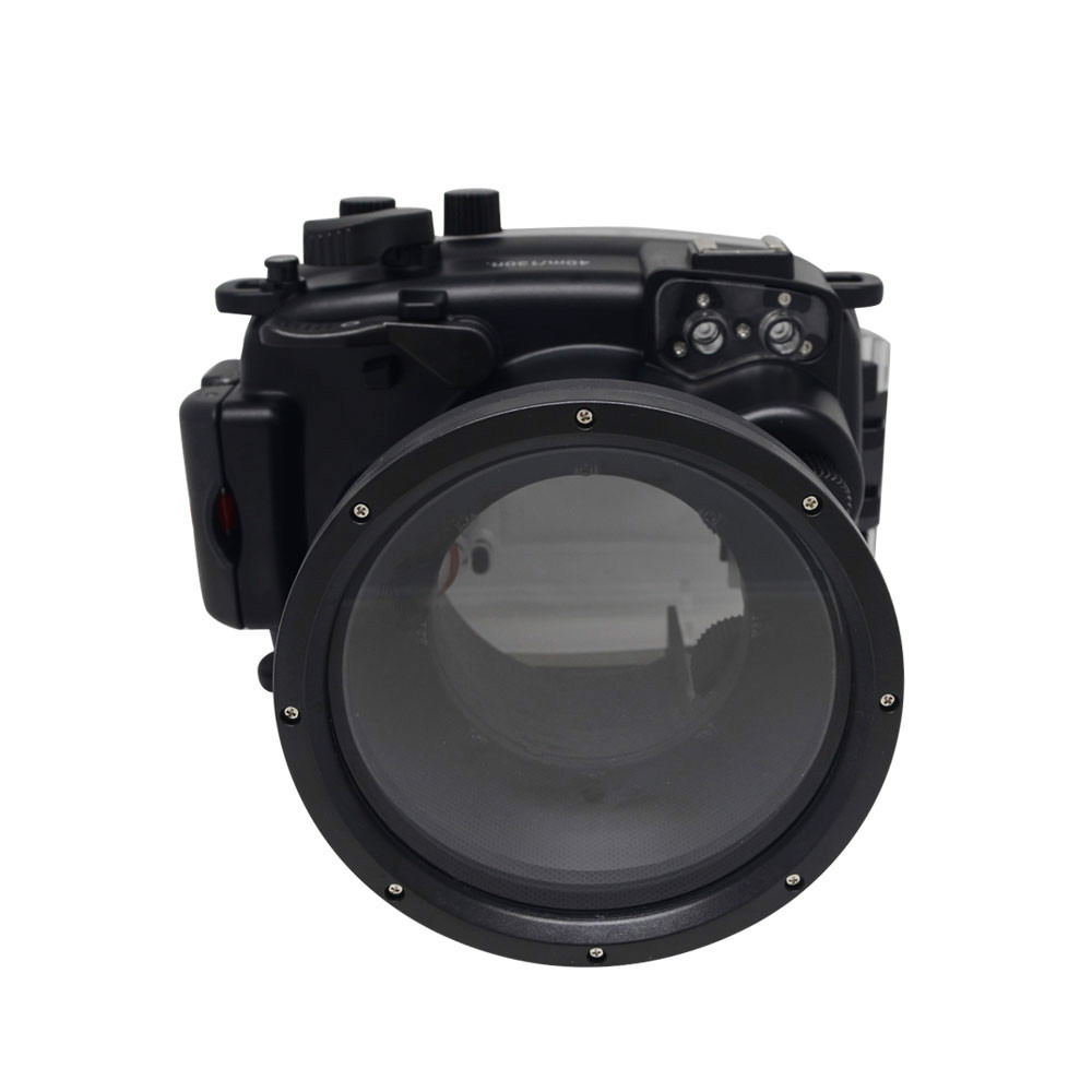 Underwater Waterproof Camera Housing Case for Fuji Fujifilm X-M1 XM1 16-50mm Lens Waterproof 40M 130ft 40m 130ft waterproof diving underwater dslr camera housing case for canon g9x