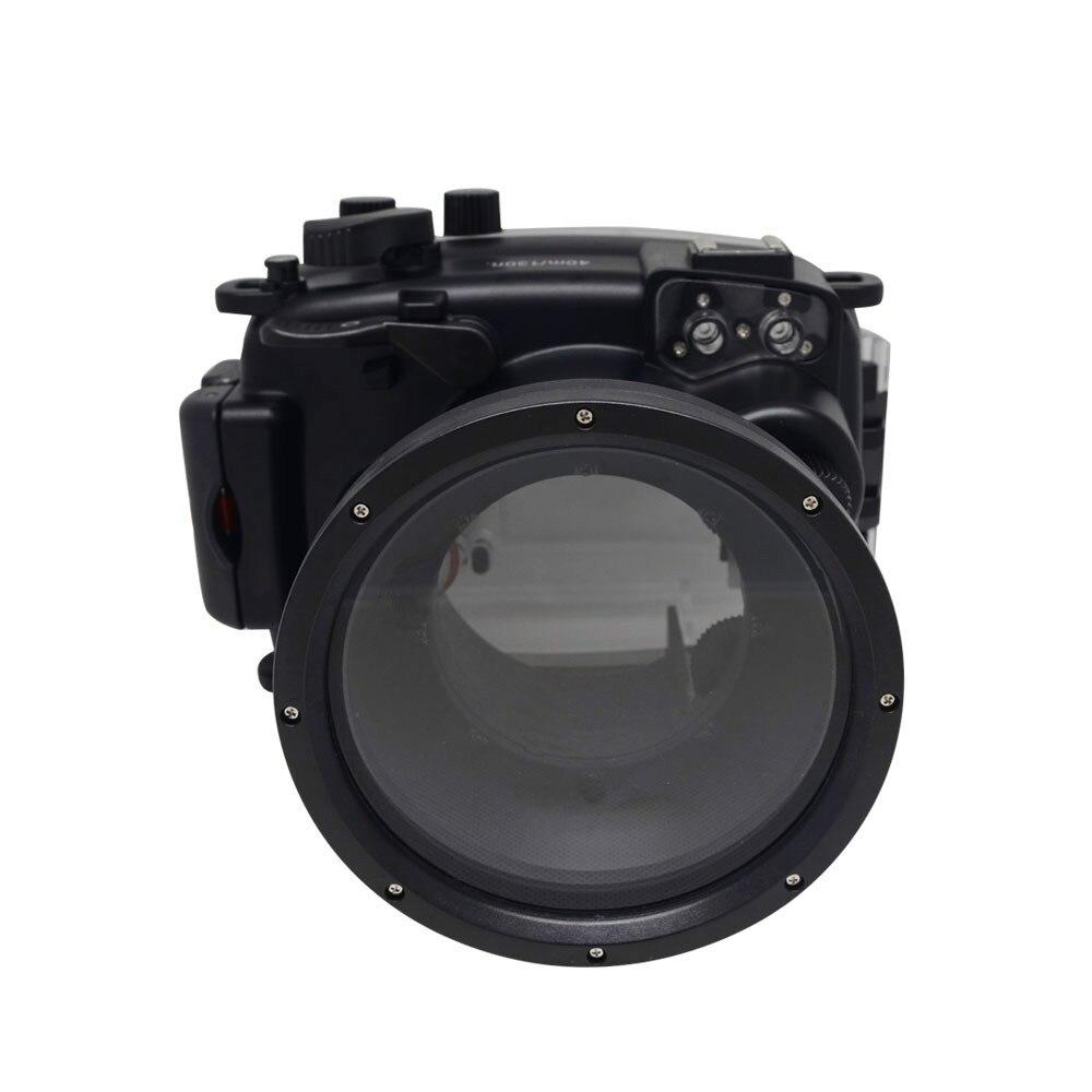 Underwater Waterproof Camera Housing Case for Fuji Fujifilm X-M1 XM1 16-50mm Lens Waterproof 40M 130ft mcoplus 40m 130ft camera underwater housing waterproof shell case for nikon j5 10mm lens