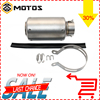 2016 New Model High Quality Titanium Alloy 51 60mm Universal Motorcycle Exhaust Pipe Muffler Racing SC