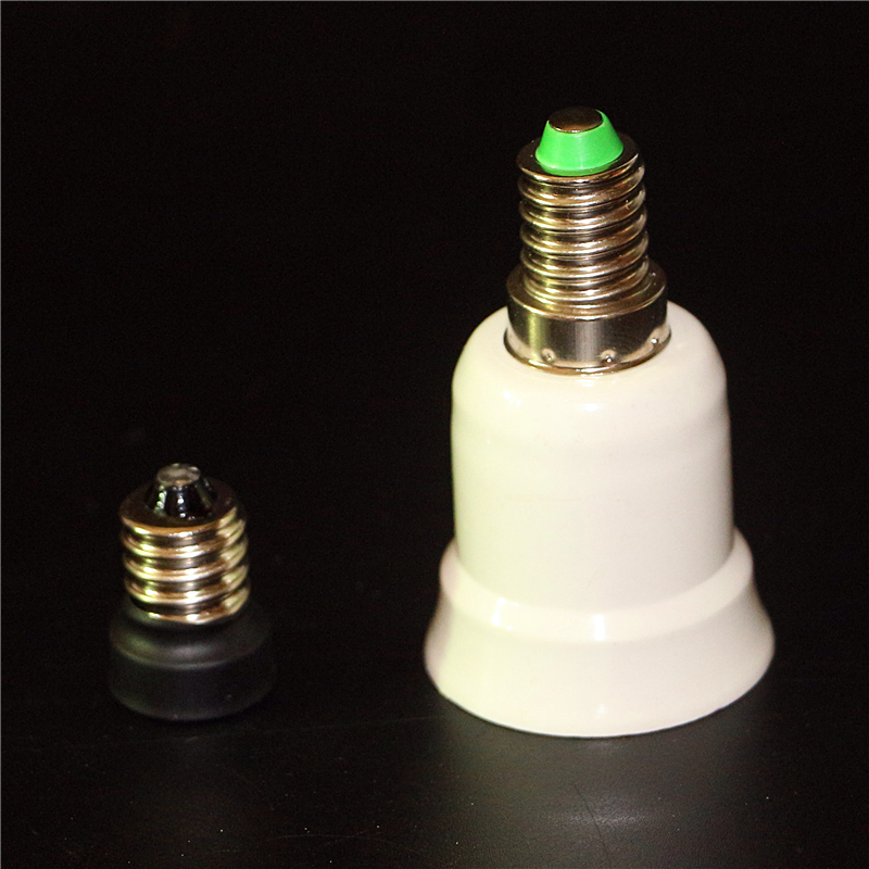 1Pcs E14 <font><b>E12</b></font> E27 Lamp Base Screw Light Lamp Bulb Holder Adapter E14 to <font><b>E12</b></font> <font><b>Socket</b></font> Converter E14 to E27 Lamp Holder Converters image