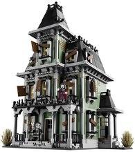 Lepin 16007 2141 Pcs Monstre combattant La maison hantée Modèle ensemble Bâtiment pour Kit DIY Éducatifs Cadeau Compatible Avec 10228