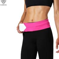 B BANG New Outdoor Running Waist Bags Men And Women Sport Multi Function Waist Packs Unisex