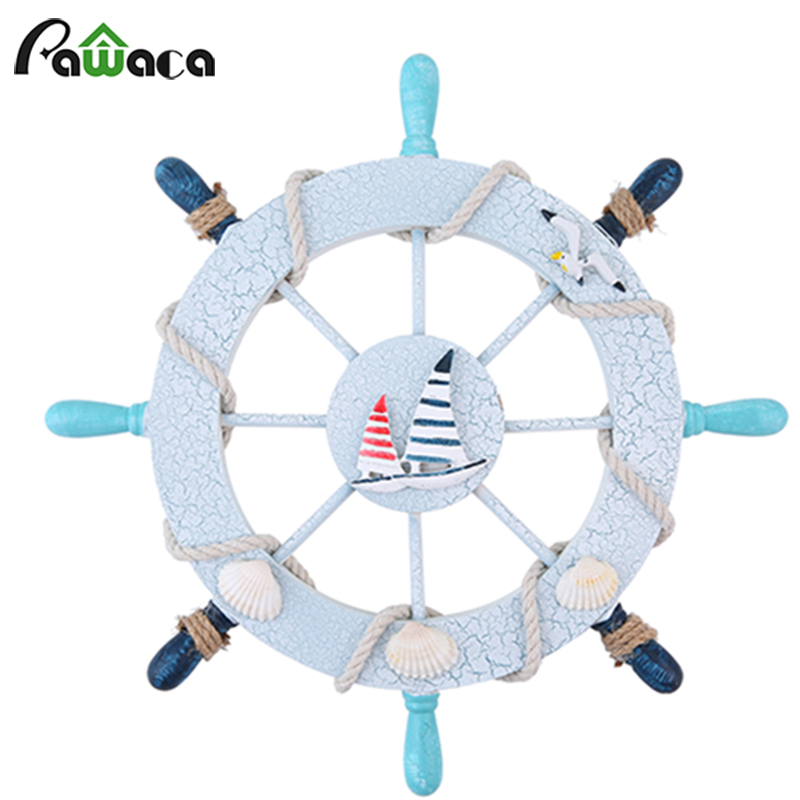 Home Ocean Sea Sailor Decor Painted Nautical Wooden Ship Wheel Fishing Net Personality Collection perfect gift home office boatHome Ocean Sea Sailor Decor Painted Nautical Wooden Ship Wheel Fishing Net Personality Collection perfect gift home office boat