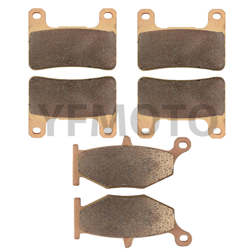 Motorcycle Front & Rear Brake Pads Kit For Suzuki GSXR750 GSXR 750 2006-2009 07 08 Brake Disks motorcycle front