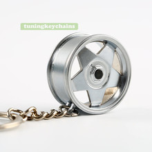 Модный дизайн A BORBEE втулка диска колеса тюнинг мужской женский брелок кулон авто аксессуары цепочки для ключей высокого качества