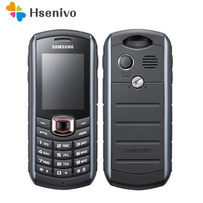 B2710 Original Desbloqueado Samsung B2710 1300 mAh 2MP GPS 2.0 Polegadas 3G remodelado Celular À Prova D' Água Frete grátis