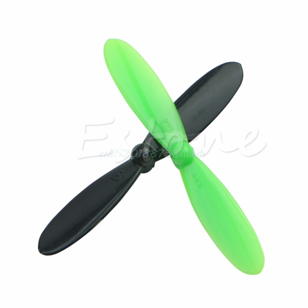 20Pcs//Set Rotor Propeller Props Blades for Quadcopter Helicopter Hubsan X4 H107