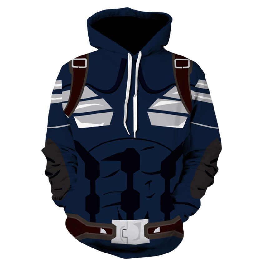 The avengers 4 finale Косплей Костюм Толстовка с капюшоном 3D-печатная Военная Униформа унисекс куртка хип-хоп Топ